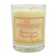 Plumeria un jour, Plumeria toujours! Bougie parfumée artisanale
